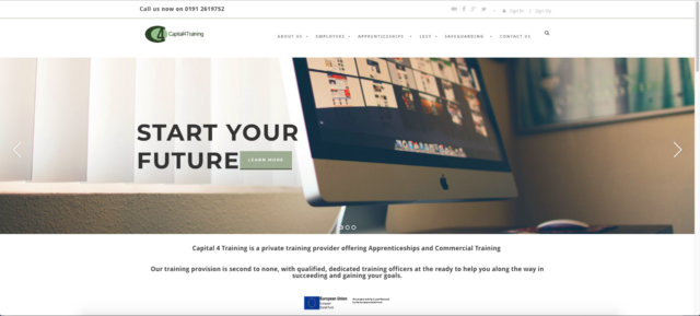Old Capital 4 Training Website.