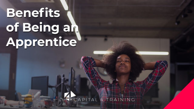 Benefits of being an Apprentice – Tuesday