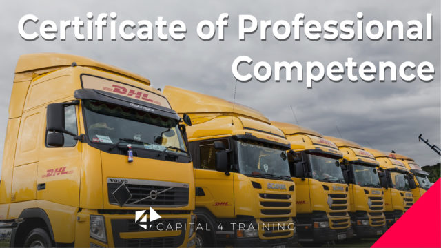 Driver CPC (Certificate of Professional Competence)