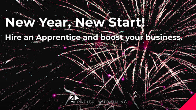 New Year, New Start. Hire an apprentice and boost your business